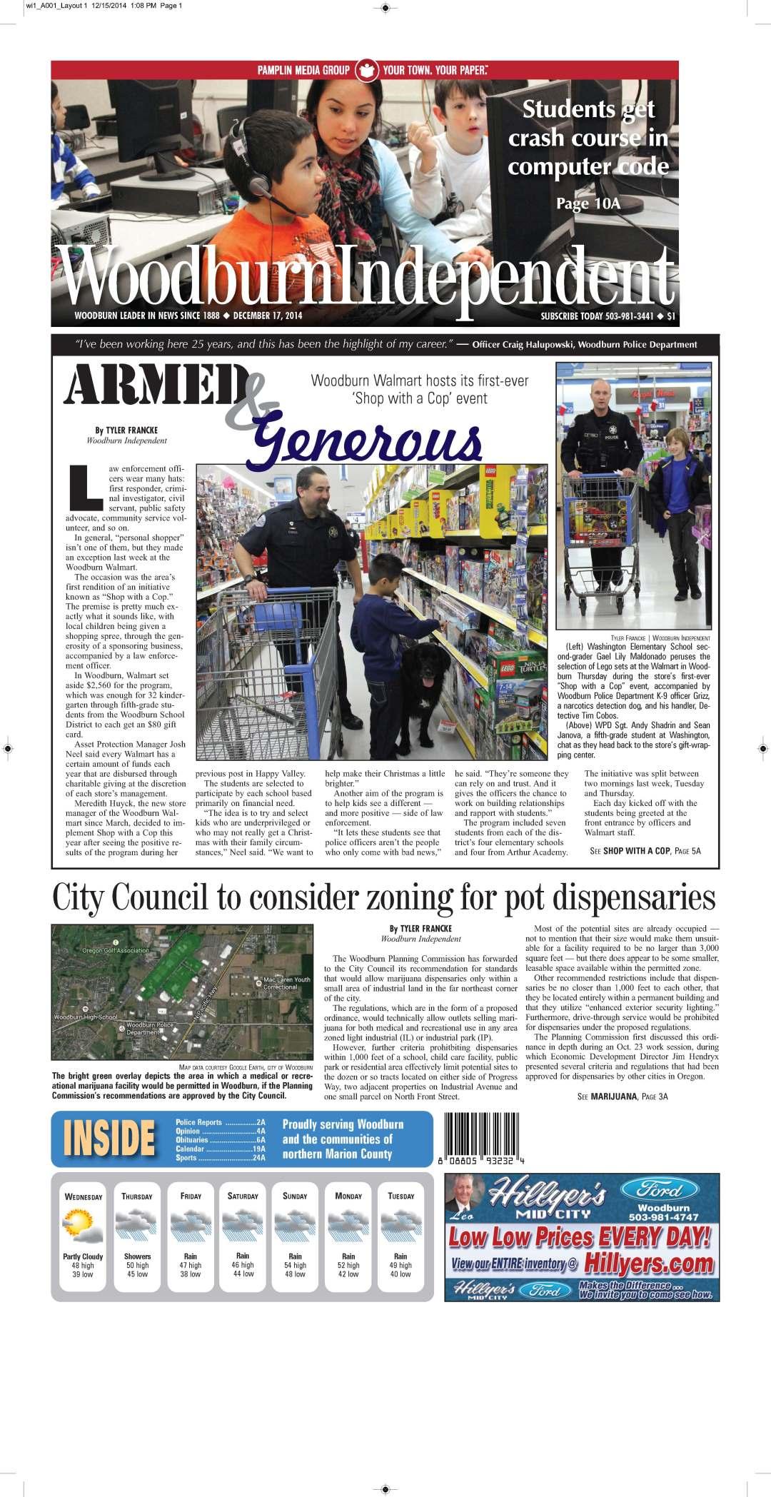 Woodburn Independent | Dec. 17, 2014