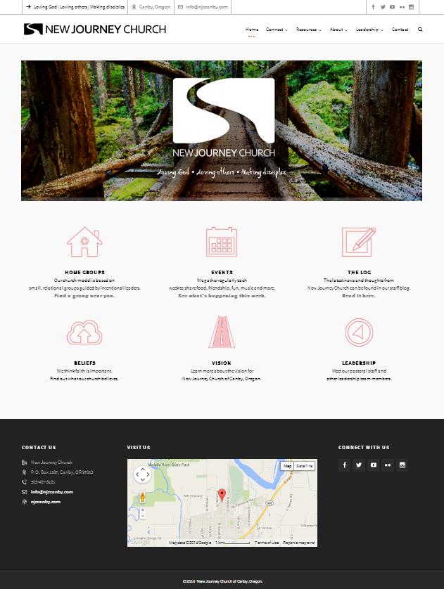 Website of New Journey Church