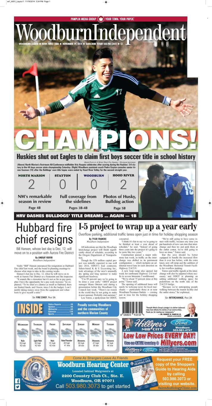 Woodburn Independent | Nov. 19, 2014