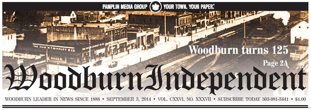 Woodburn Independent | Sept. 3, 2014