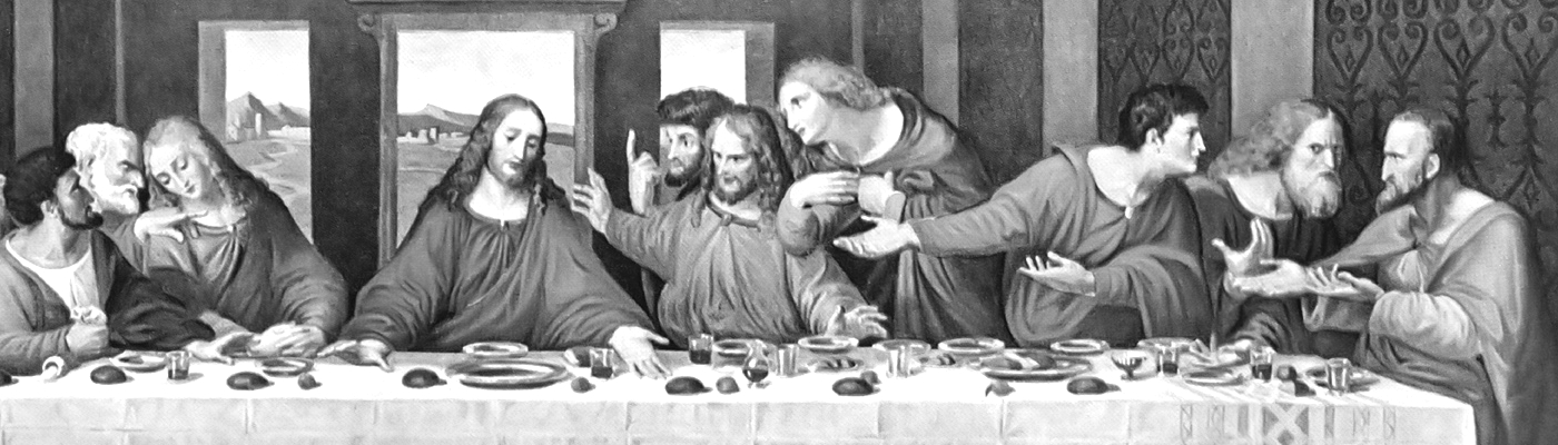 last supper header